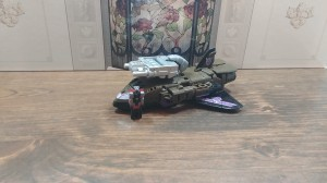 Video Review of Transformers: Prime Wars Exclusive Blast Off with Megatronus