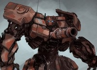 Transformers News: Transformers DOTM Video Game Warpath Concept Art