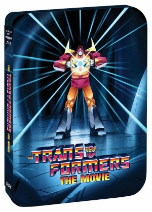 The Transformers: The Movie 35th Anniversary Limited Edition SteelBook Out August 3 from Shout! Factory