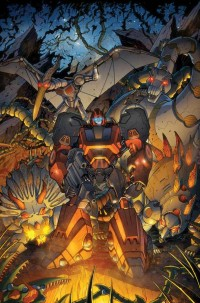 Transformers News: Transformers: Robots in Disguise Ongoing #8 Cover