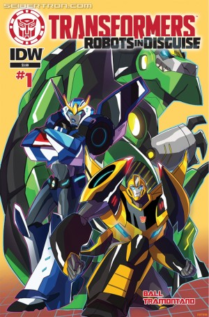 Transformers News: Sneak Peek - IDW Transformers: Robots in Disguise #1 iTunes Preview