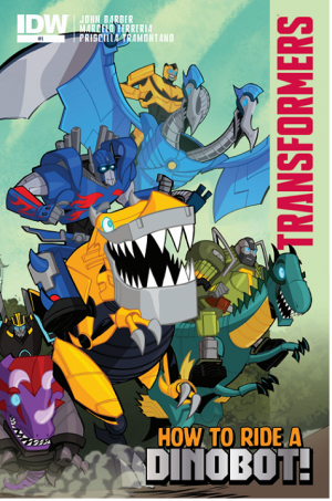 Transformers News: Transformers: How to Ride a Dinobot Comic