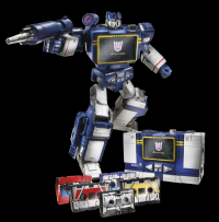 "Video Review: Hasbro Toys""R""Us Exclusive Masterpiece Soundwave"