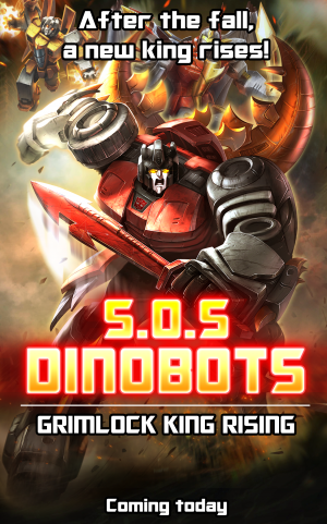 Transformers News: Transformers: Legends Launches S.O.S. Dinobots! Episode