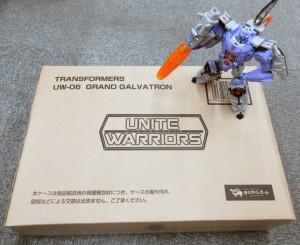In-Hand Image - Takara Tomy Transformers Legends LG23 Galvatron