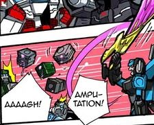 Transformers News: Translated Comic for Takara Transformers Unite Warriors Megatronia