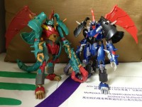 Transformers News: In-Hand Images: Takara Tomy Transformers Go! Bakudora