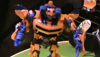 Transformers News: Toy Fair 2010: Video of Transformers Battle Ops Bumblebee