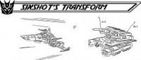 Transformers News: The Ark Addendum: Sixshot's Transformation (Part 2)
