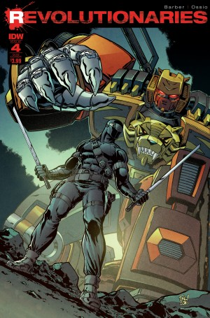 Transformers News: IDW Transformers Comics for March 2017: Revolutionaries, Ongoings, Hearts of Steel, More
