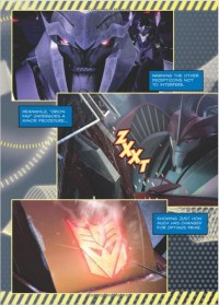 Transformers News: Transformers Prime Season 2 Paperback Preview