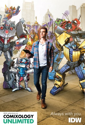 Transformers News: ComiXology Best of 2017 Twitter Fan Vote, featuring Several Transformers Creators