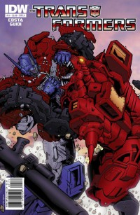 Transformers Ongoing #11 - Five Page Preview
