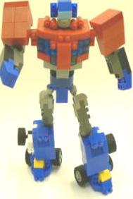 Transformers News: Takara Transformers Animated Diablock Optimus Prime and Bumblebee