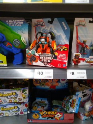 Transformers: Rescue Bots Brushfire Found at UK Retail