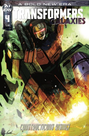 Transformers News: IDW Transformers: Galaxies #4 Review