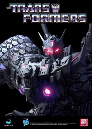 AzureSea Studio Debuts Transformers  IDW Tarn statue