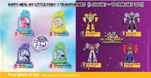New Transformers Happy Meal Toys for  International Markets