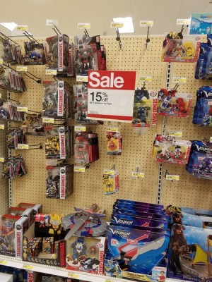 Transformers News: Steal of a Deal: 15% off Transformers Toys at Target Stores