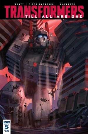 Sneak Peek - IDW Transformers: Till All Are One #5