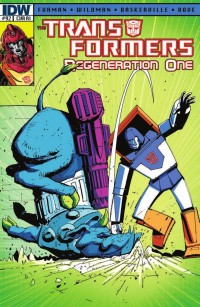 Transformers ReGeneration One #92 Review