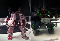 """Headrobots """"Ronin"""" and """"Tauros"""" Update Images"""
