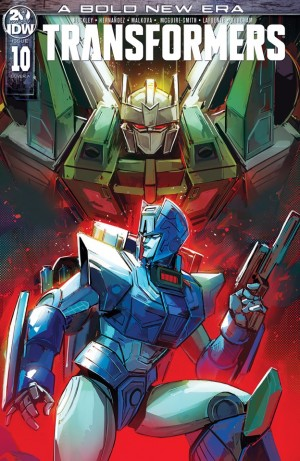 Transformers News: IDW Transformers Number 10 iTunes Preview