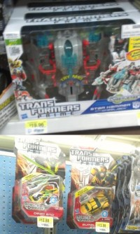 Transformers Prime Deluxe Wave 4 and Cyberverse Vehicles Wave 1 Released