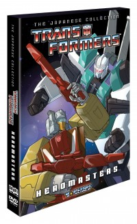Shout! Factory's Transformers Japanese Collection: Headmasters Box Art Revealed