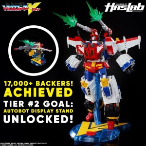 HasLab Transformers Victory Saber is now over 17K and Stand Tier has been Reached