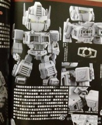 Transformers News: New Images of Kids Logic Super Deformed Optimus Prime