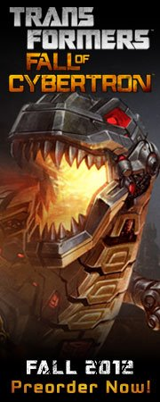 New Transformers: Fall of Cybertron Gameplay Footage Tomorrow Morning!
