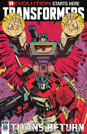 Transformers News: IDW The Transformers #56 Review #TitansReturn