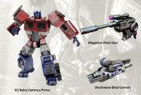 Transformers: Fall of Cybertron G1 Retro Pack Pre-Order Exclusive for PC