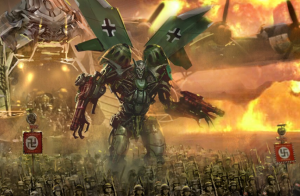 Transformers News: Artwork and Poster for Unproduced WWII set Transformers Film Operation Skyfire