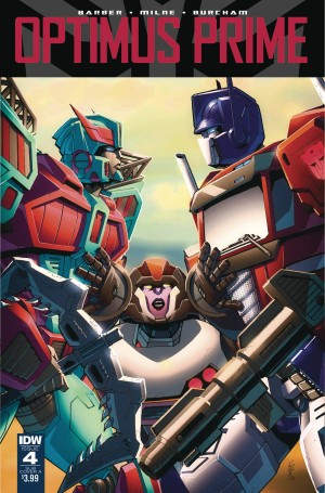 Sneak Peek - IDW Optimus Prime #4
