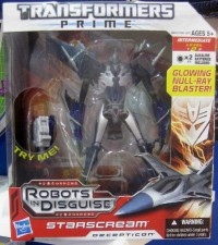 Transformers News: Australia Toy Fair 2012 Images: Transformers Prime RID Voyagers Bulkhead & Starscream, and Cyberverse Playsets In-Package
