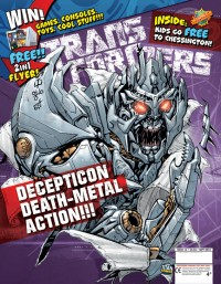 Transformers News: Transformers Comic 2.16 - On Sale 12th August!