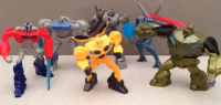 Transformers News: Video Review: Transformers Prime McDonald's Happy Meal Toys