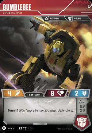 Transformers Trading Card Game Autobot Starter Set Decklist