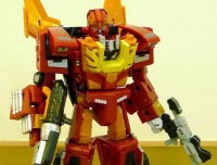 Transformers News: New, Unofficial Images of the Completed Fansproject Protector Set!