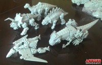 Transformers News: TFC Toys Dino-Combiner Prototype Images