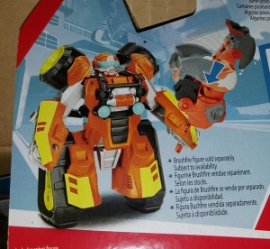 Transformers Rescue Bots ATV Brushfire revealed, Sequoia in hand images