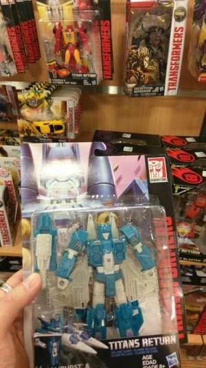 Transformers News: Transformers Titans Return Wave 5 AND 6 Deluxes Found at Australian Retail
