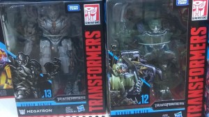 First Global Sighting of Transformers Studio Series Voyagers Brawl and Megatron