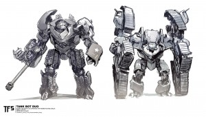 Transformers News: More Concepts for Transformers: The Last Knight Dragonicus, Bulldog, Megatron by Tedeschi, Pringle, Burt