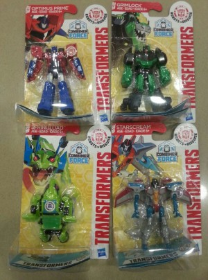 Transformers News: Robots In Disguise Combiner Force Legion Class Toys Found at Retail in Australia