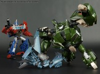 Transformers News: Seibertron Galleries Transformers Prime FE Voyagers Optimus, Bulkhead & RID Megatron
