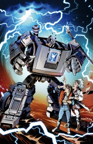 IDW Announce Back to the Future x Transformers Crossover Miniseries