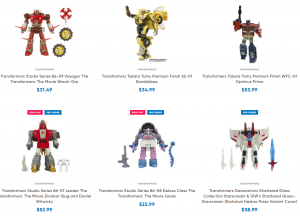 New Transformers Preorders Show US$ Price Increases